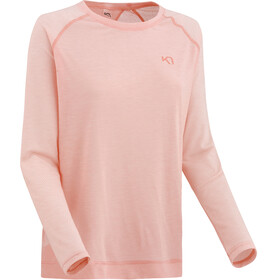Kari Traa Isabelle - T-shirt manches longues Femme - rose